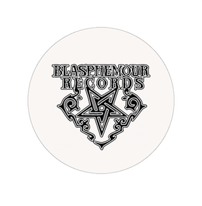 "Blasphemour Records ""Logo"" Button"