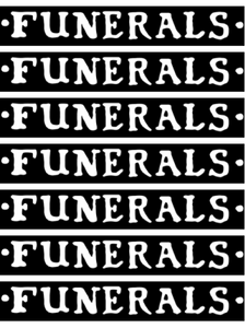 "Funerals ""Logo"" Sticker"