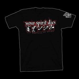 "Your Spirit Dies ""The Process of Grief"" Tshirt"