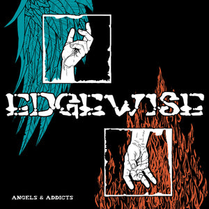 "Edgewise ""Angels & Addicts"" 7"" Vinyl"