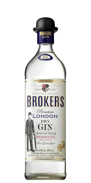 Broker's London Dry Gin (700ml)