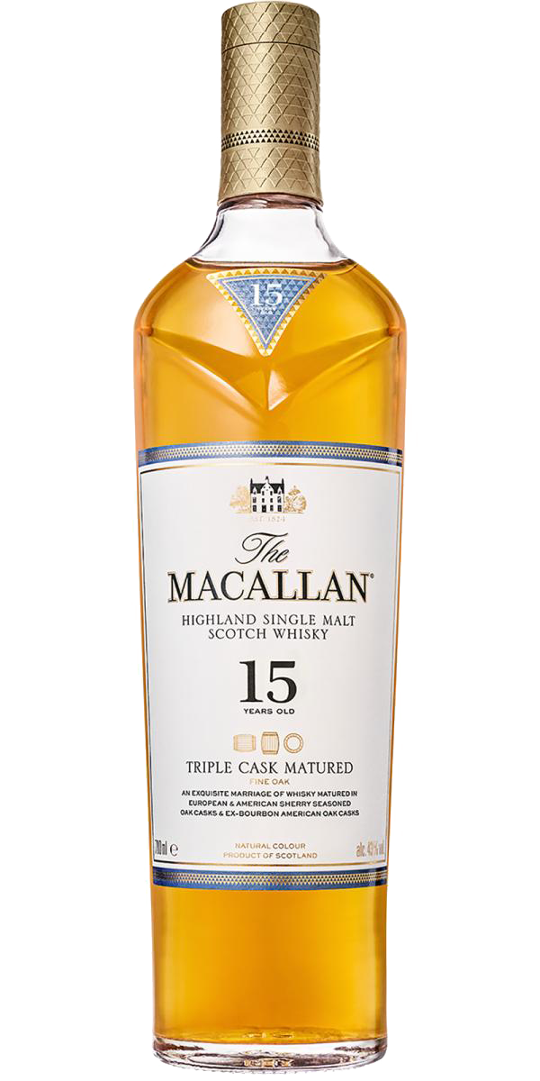 Macallan 15 Year Old Triple Cask (700ml)