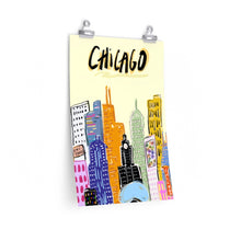 Load image into Gallery viewer, chic chicago *poster*