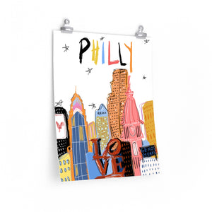 funky philly *poster*