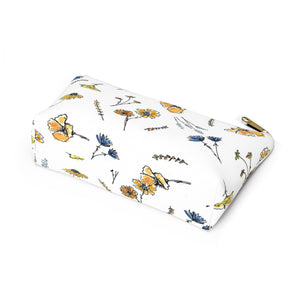 flower pattern pouch