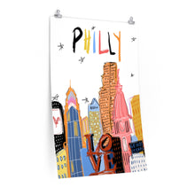 Load image into Gallery viewer, funky philly *poster*