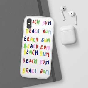 beach bum phone case
