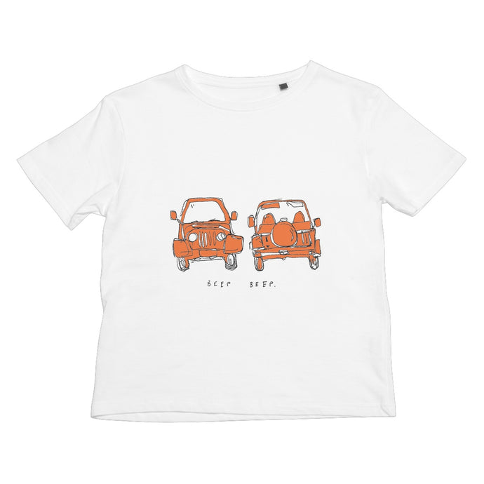 red jeep Kids Retail T-Shirt