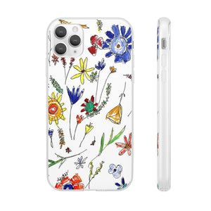 whimsical flowers case