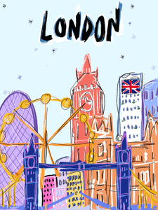 for my London ladies *print*