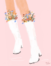 Load image into Gallery viewer, flower boots