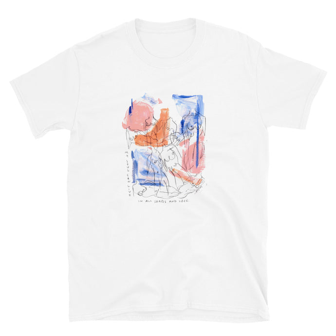 shapes and sizes tee