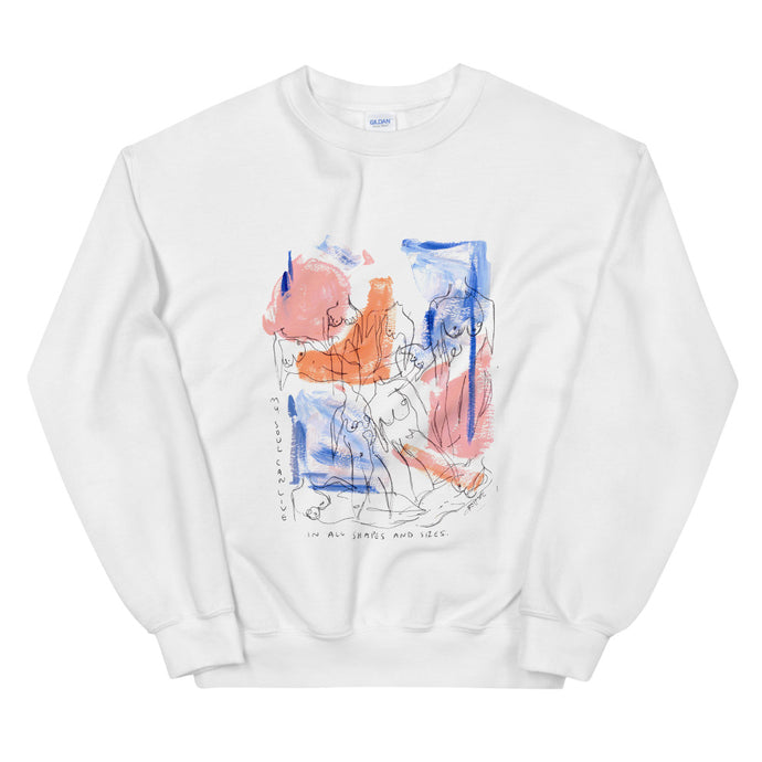 shapes and sizes crewneck