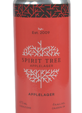Apple Lager - Spirit Tree Estate Cidery