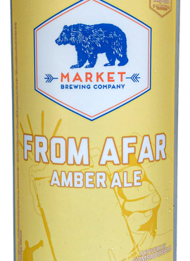 From Afar Amber Ale - Market Brewing
