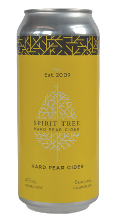 Hard Pear Cider - Spirit Tree Estate Cidery