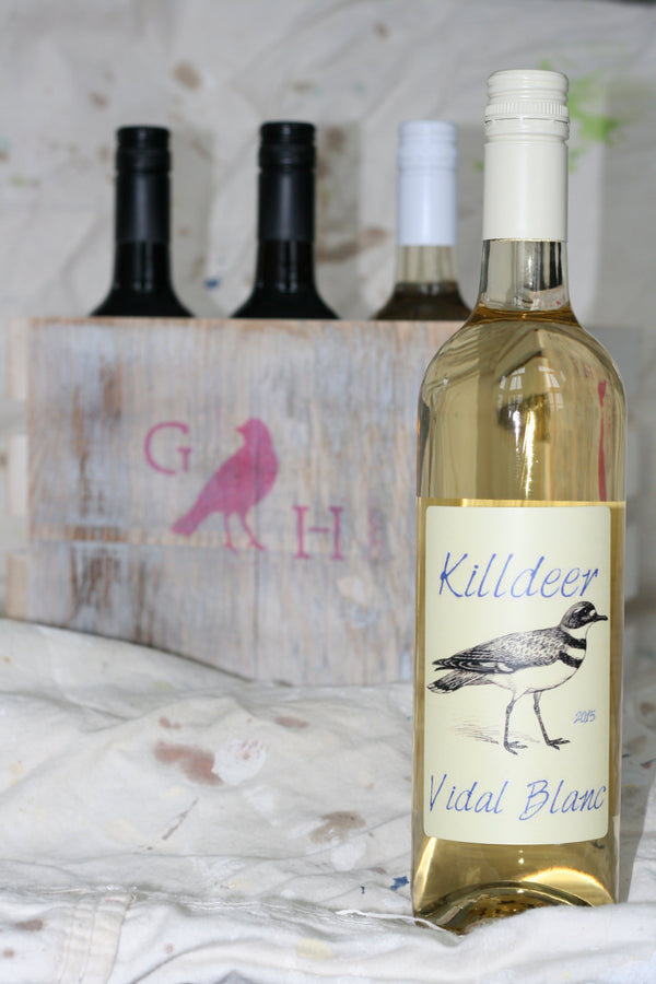 Killdeer - Vidal/Blanc Blend (Gravel Hill Vineyards)