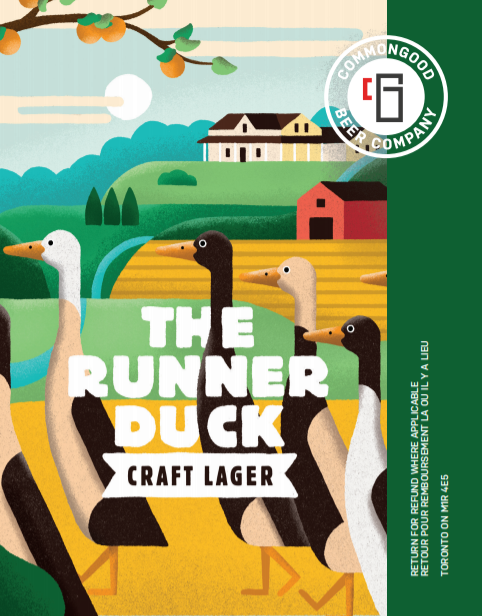 The Runner Duck - Lager