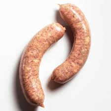 beef polish sausage with a hint of smoke, grass fed in a beef casing