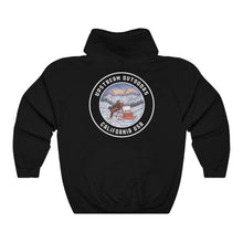Load image into Gallery viewer, Black Buzzed Winter Logo Hoodie