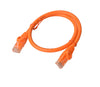8Ware Cat6a UTP Ethernet Cable 25cm Snagless Orange