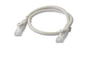 8Ware Cat6a UTP Ethernet Lan Cable 0.5m (50cm) Snagless-�Grey