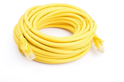 8Ware Cat6a UTP Ethernet Cable 10m Snagless Yellow