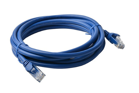 8Ware Cat 6a UTP Ethernet Lan Cable 7m Snagless - Blue