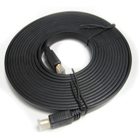 8Ware Flat HDMI Cable 2m - V1.4 19pin M-M Male to Male