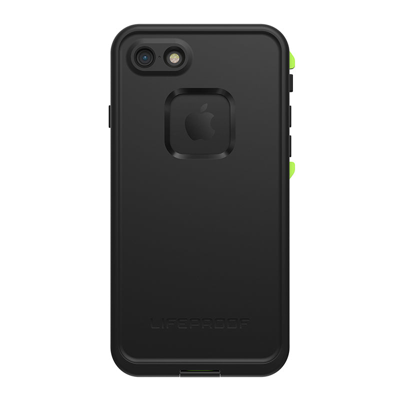 LIFEPROOF FRE 360o WATERPROOF CASE FOR IPHONE 8/7 - BLACK/LIME