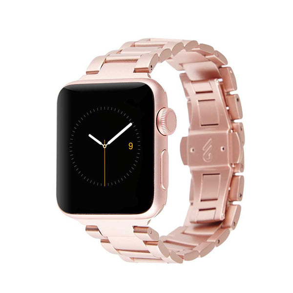 CASEMATE STAINLESS STEEL LINKED BAND FOR APPLE WATCH (42MM - 44MM) - ROSE GOLD