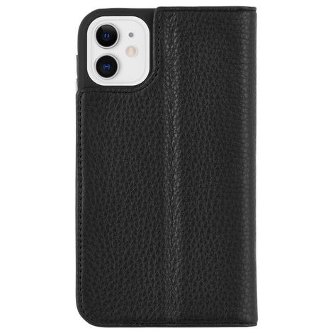 Case-Mate Wallet Folio Case - For iPhone 11 - Black