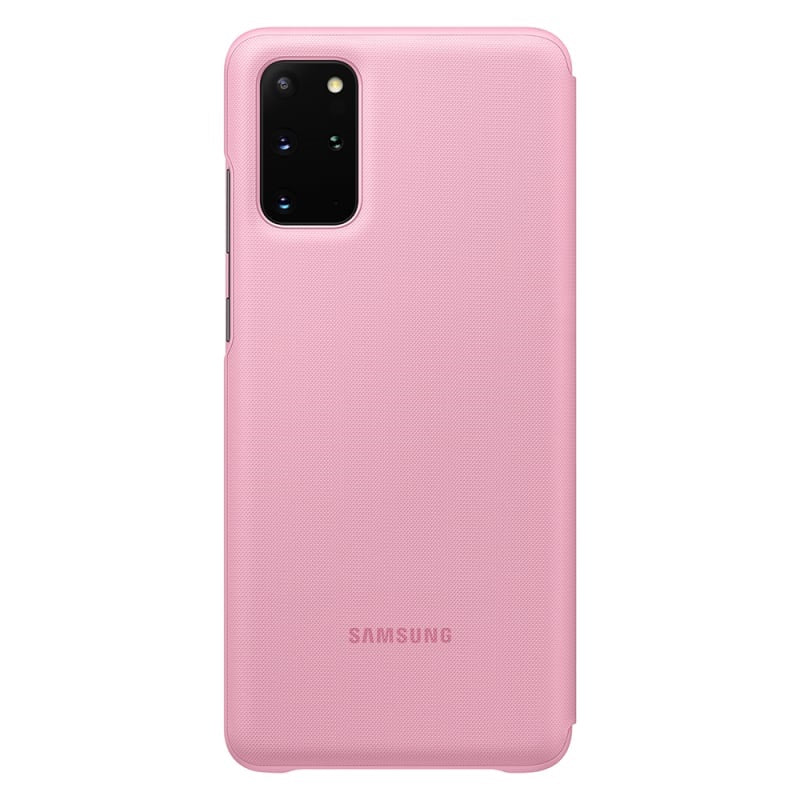 Genuine Samsung LED View case Cover for samsung Galaxy S20 Plus (6.7) - Pink