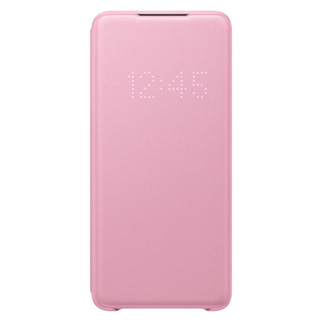 Samsung Genuine Original Samsung Galaxy S20+ Plus SM-G985/986 LED View Cover Wallet Case [Colour:Pink]