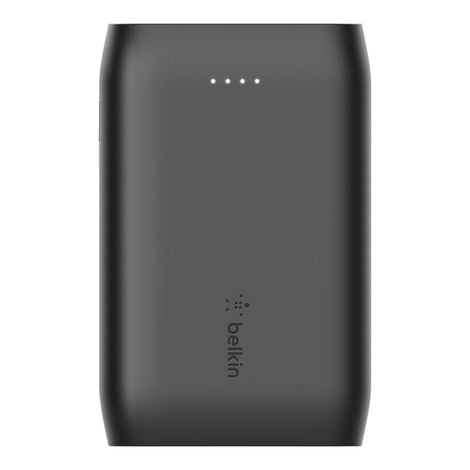 Belkin BoostCharge Power Bank 10K - Universally compatible - Black