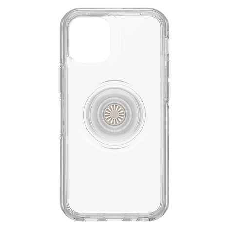 For apple iPhone 12 mini case cover genuine OtterBox Otter+Pop Symmetry - Clear