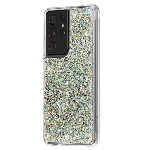 Case-Mate Twinkle Case - For Samsung Galaxy S21 Ultra 5G - Stardust w/ Micropel