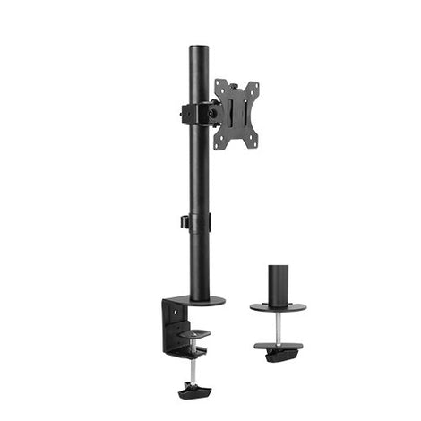 Brateck Single Screen Economical Articulating Steel Monitor Arm For most 13'-32' LCD monitors, Up to 8kg/Screen