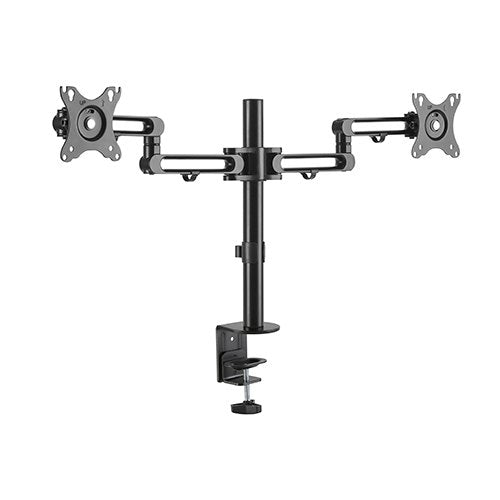 Brateck Dual Monitor Premium Aluminum Articulating Monitor Arm for 17'-32' Up to 8kg