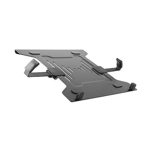 Steel Laptop Holder Fits 10'-15.6' for most desk mounts with standard 75x75/100x100 VESA plate - Brateck
