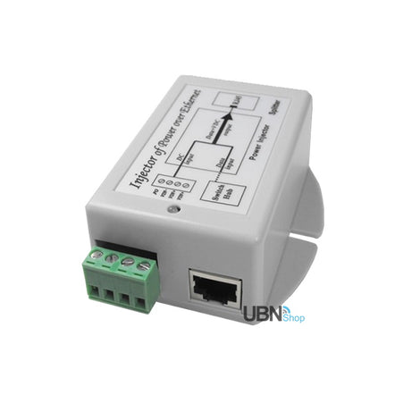 Ubiquiti Tycon Power TP-DCDC-1224G 24V Passive POE Output Gigabit Injector.