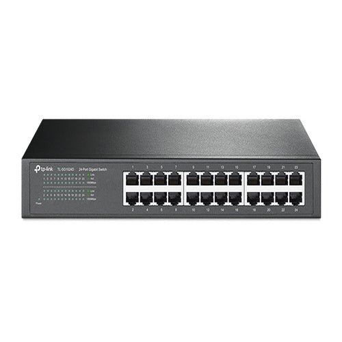 TP-Link 24-Port Gigabit Desktop/Rackmount Unmanaged Switch energy-efficient Supports