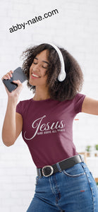 Short sleeve (Name Jesus) Tees