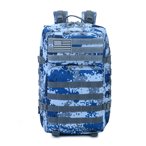 Digital Blue Camo Backpack