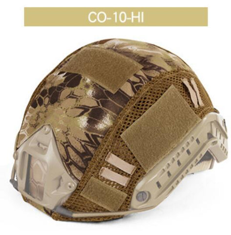 Camouflage Helmet Covers - for Al's Edition Tactical Helmet