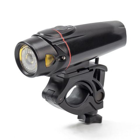 350 Lumen USB Rechargeable Bicycle Headlight with 180º Visibility