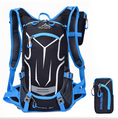 Blue Cycling Backpack
