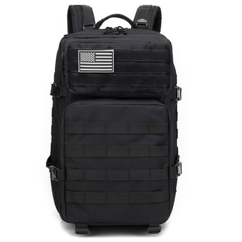 Black Backpack Front