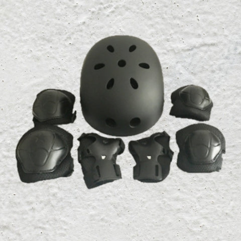 Helmet & Pads - 7 piece Suit for youth & Children