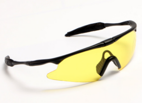 Sports Sunglasses with Yellow Lenses